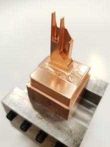 Výroba elektrody potřebné pro hloubení
